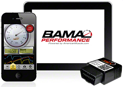 Bama iTSX Wireless Tuner w/ 3 Custom Tunes (99-01 Cobra; 03-04 Mach 1)