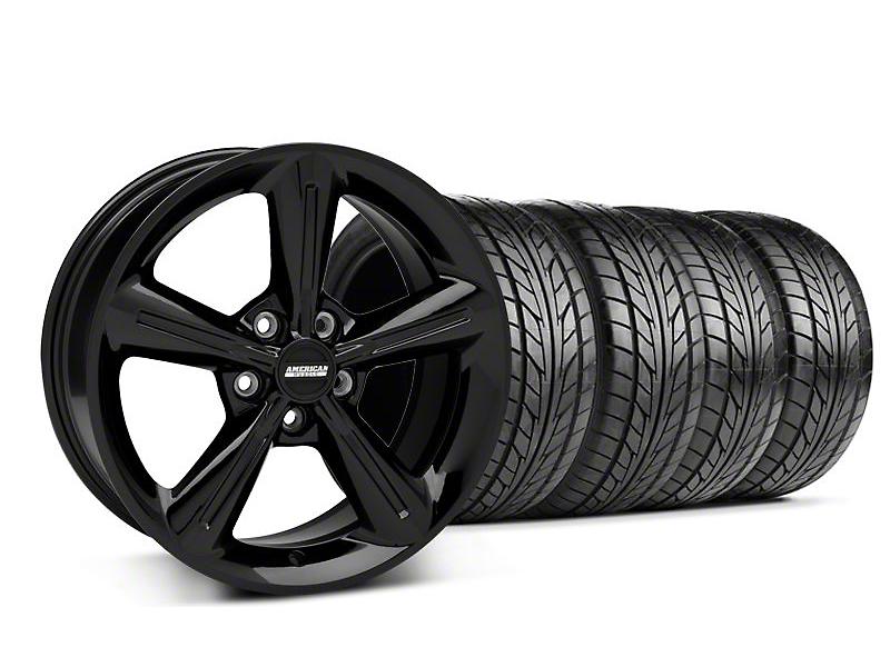 2010 OE Style Black Wheel & NITTO Tire Kit - 18x8 (05-14 All)