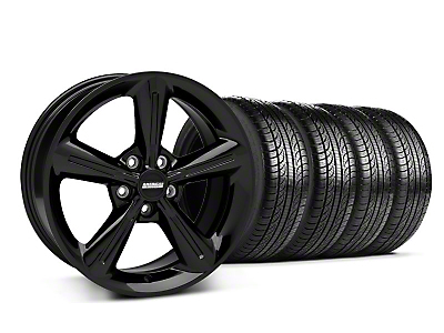 2010 OE Black Wheel & Pirelli Tire Kit - 18x8 (05-14 All)