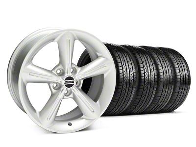 2010 OE Style Silver Wheel & Pirelli Tire Kit - 18x8 (05-14 GT, V6)