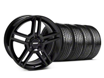 2010 GT500 Style Black Wheel & Pirelli Tire Kit - 19x8.5 (05-14 All)