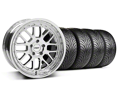 TSW Valencia Chrome Wheel & Sumitomo Tire Kit - 18x8 (94-98 All)