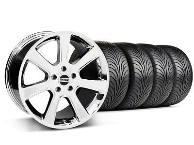 S197 Saleen Style Chrome Wheel & Sumitomo Tire Kit - 18x9 (99-04 All)