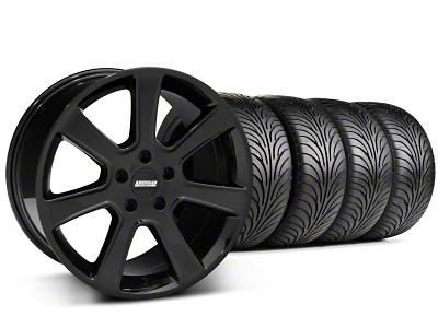 S197 Saleen Style Black Wheel & Sumitomo Tire Kit - 18x9 (99-04 All)