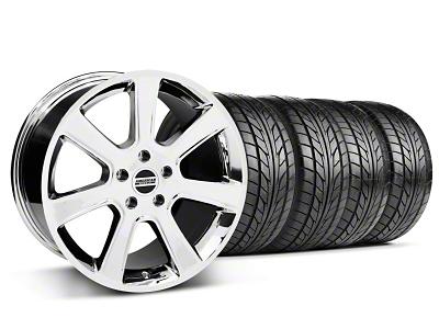 S197 Saleen Style Chrome Wheel & NITTO Tire Kit - 20x9 (05-14 All)
