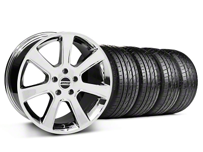 S197 Saleen Style Chrome Wheel & Sumitomo Tire Kit - 20x9 (05-14 All)