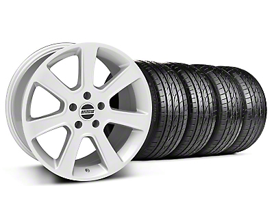 Staggered S197 Saleen Style Silver Wheel & Sumitomo Tire Kit - 20x9/10 (05-14 All)