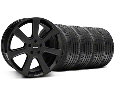 S197 Saleen Style Black Wheel & Sumitomo Tire Kit - 20x9 (05-14 All)