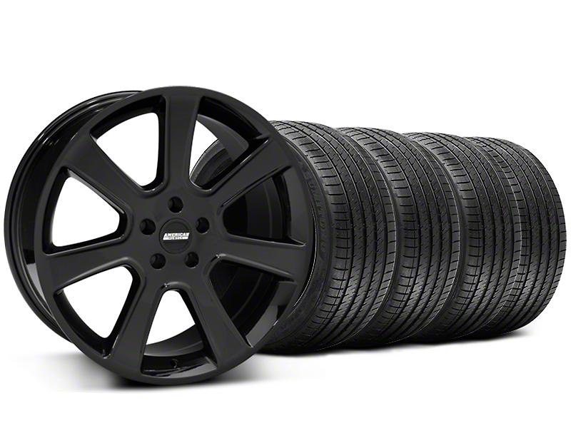 S197 Saleen Style Black Wheel & Sumitomo Tire Kit - 20x9 (05-14 All)