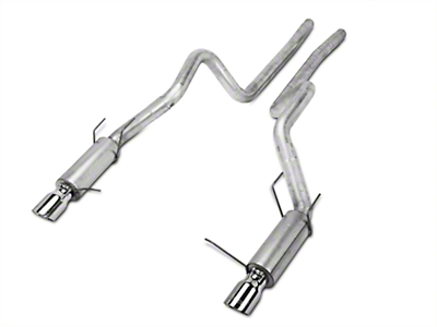 MBRP Race Series Catback Exhaust - Aluminized (11-14 GT)