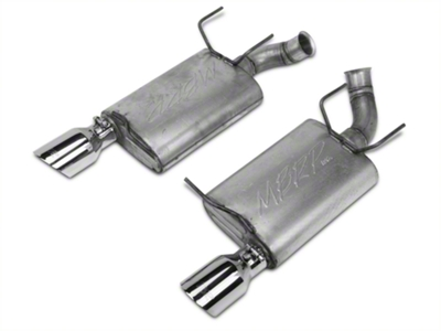 MBRP Installer Series Axleback Exhaust - Aluminized (11-14 V6)