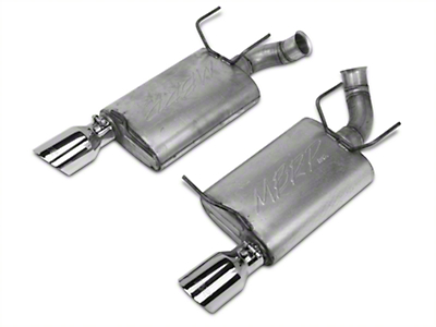 MBRP Installer Series Axle-Back Exhaust - Aluminized (11-14 V6)