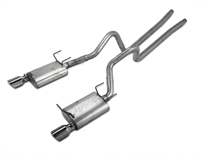 MBRP Cat-Back Exhaust - Aluminized (11-14 V6)