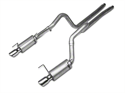 MBRP Street Cat-Back Exhaust - Aluminized (05-09 GT; 07-10 GT500)