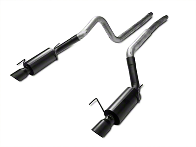 MBRP Street Cat-Back Exhaust - Black Tips (05-09 GT; 07-10 GT500)