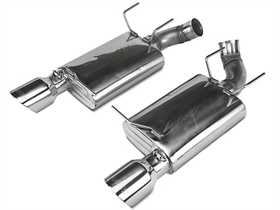 MBRP Pro-Series Axleback Exhaust - Stainless Steel (11-12 GT500)