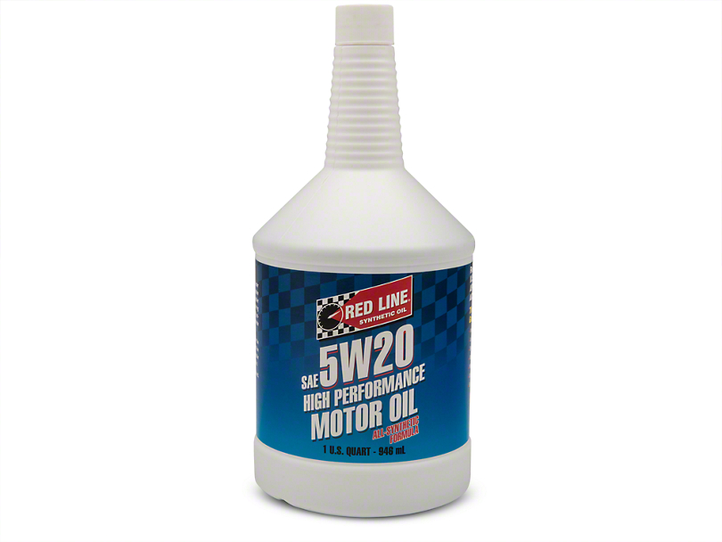Red Line Synthetic 5w20 Mustang Motor Oil 15204 Free
