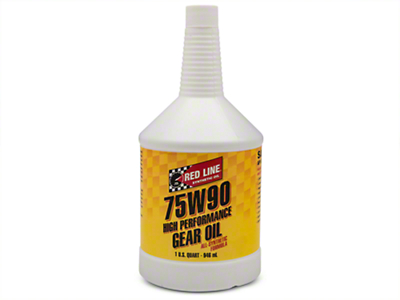 Red Line 75w90 Gear Oil