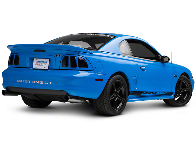 ford mustang rear bumper reflector right side. Black Bedroom Furniture Sets. Home Design Ideas