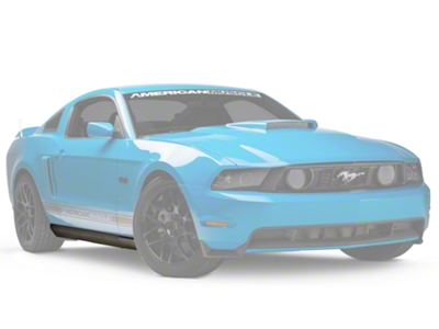 Ford 2010 Style Rocker Molding - Right Side (10-12 GT, V6, GT500)