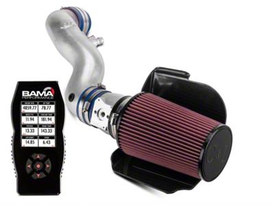 C&L Cold Air Intake w/ 80mm MAF & Bama X4 Tuner (96-01 GT)
