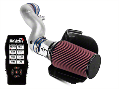 C&L Cold Air Intake w/ 80mm MAF & Bama X4 Tuner (96-01 GT)
