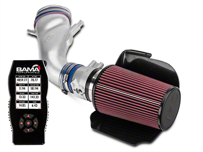 C&L Cold Air Intake w/ 80mm MAF & Bama X4 Tuner (96-98 Cobra)
