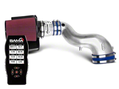 C&L Cold Air Intake w/ 80mm MAF & Bama X4 Tuner (99-01 Cobra)
