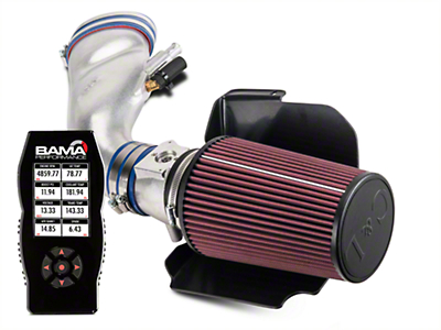 C&L Cold Air Intake w/ 80mm MAF & Bama X4 Tuner (01 Bullitt)