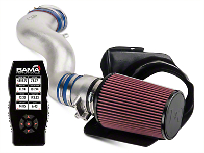 C&L Cold Air Intake w/ 82mm MAF & Bama X4 Tuner (03-04 Mach 1)