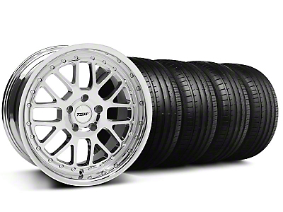 TSW Valencia Chrome Wheel & Falken Tire Kit - 18x8 (99-04 All)