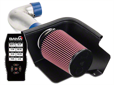 C&L Cold Air Intake w/ 83mm MAF & Bama X4 Tuner (05-09 V6)