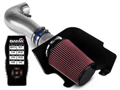 C&L Cold Air Intake w/ 83mm MAF & Bama X4 Tuner (10 V6)