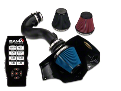 Airaid CAI - SynthaMax Dry Filter & Bama X4 Tuner (05-09 V6)