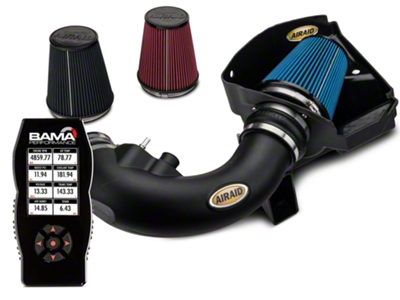 Airaid CAI - SynthaMax Dry Filter & X4 Tuner (11-14 GT)