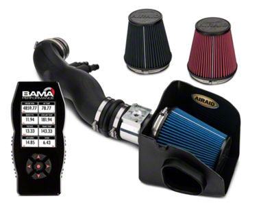Airaid CAI - SynthaMax Dry Filter & Bama X4 Tuner (99-04 GT)