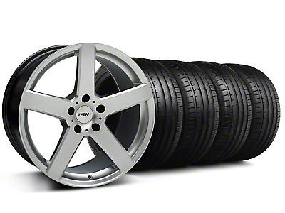 TSW Rivage Hyper Silver Wheel & Falken Tire Kit - 18x8 (99-04 All)