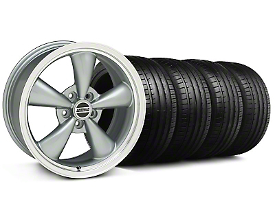 Bullitt Anthracite Wheel & Falken Tire Kit - 18x8 (99-04 All)