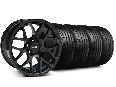 AMR Black Wheel & Falken Tire Kit - 18x8 (99-04)