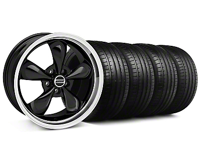 Bullitt Black Wheel & Falken Tire Kit - 18x8 (99-04 All)