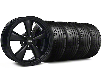 Bullitt All Black Wheel & Falken Tire Kit - 18x8 (99-04 All)