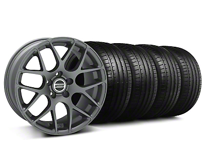 AMR Charcoal Wheel & Falken Tire Kit - 18x8 (99-04 All)