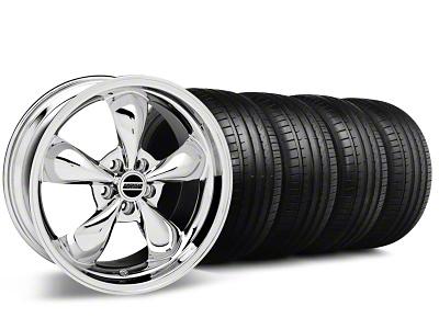 Bullitt Chrome Wheel & Falken Tire Kit - 18x8 (99-04 All)