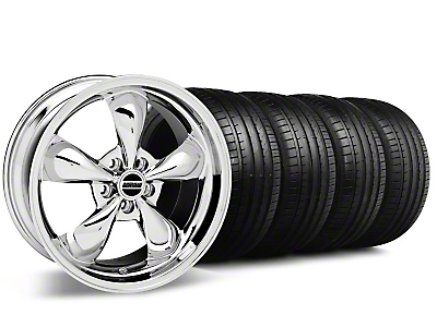 Bullitt Chrome Wheel & Falken Tire Kit - 18x8 (99-04 All)