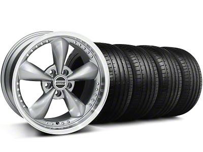 Bullitt Motorsport Anthracite Wheel & Falken Tire Kit - 18x9 (94-98 All)