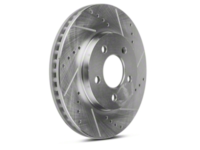 Power Stop Evolution Cross-Drilled & Slotted Rotors - Front Pair (05-10 V6)