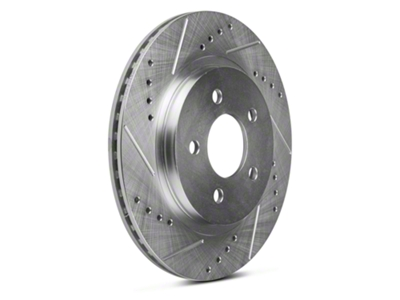 Power Stop Power Stop Evolution Cross-Drilled & Slotted Rotors - Rear Pair (05-14 All, Except 13-14 GT500)
