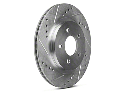 Power Stop Evolution Cross-Drilled & Slotted Rotors - Rear Pair (05-14 All, Except 13-14 GT500)