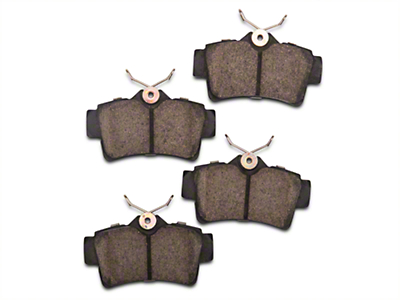 Power Stop Z23 Evolution Sport Ceramic Brake Pads - Rear Pair (94-04 Bullitt, Mach 1, Cobra)