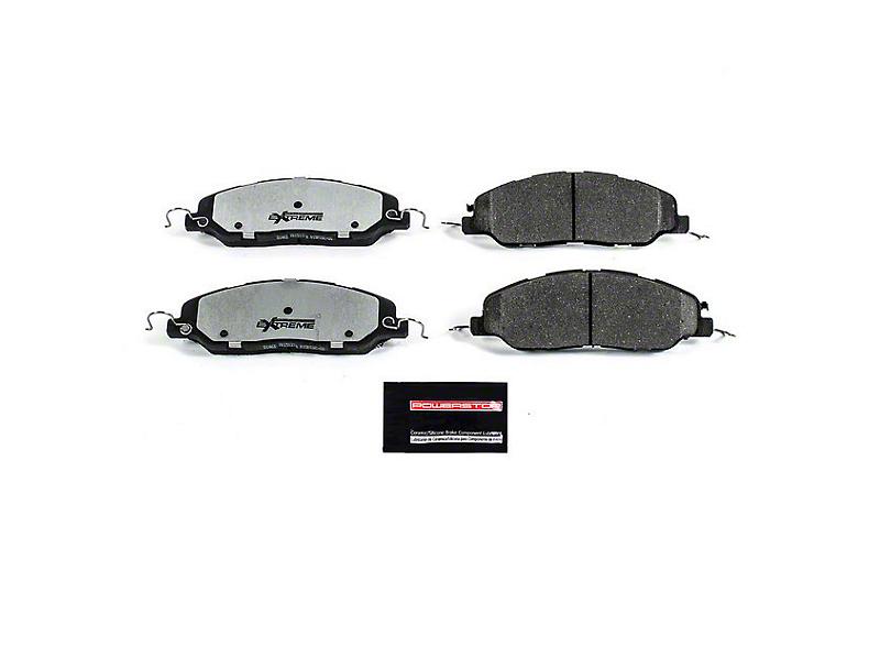 Power Stop Z26 Extreme Performance Ceramic Brake Pads - Front Pair (11-14 GT, V6)